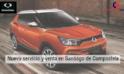 COMPOSCAR, NUEVO SERVICIO Y VENTA SSANYONG EN SANTIAGO DE COMPOSTELA